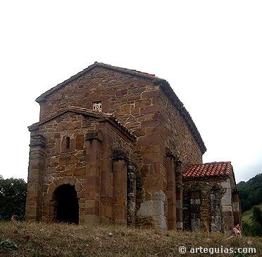 Santa Cristina de Lena. Iglesia ramirense