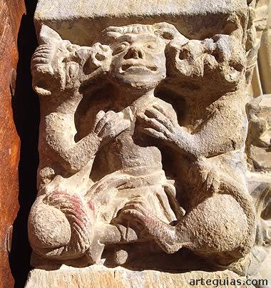 Mocheta esculpida