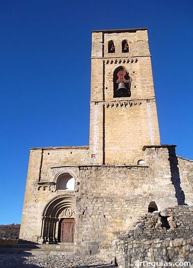 Montañana: iglesia de Santa María de Baldós