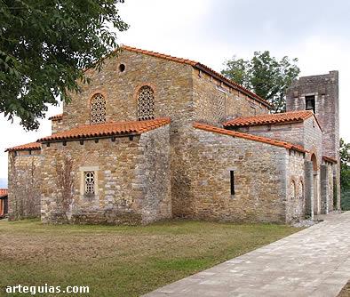 Iglesia prerrománica de Santa María de Bendones, Asturias