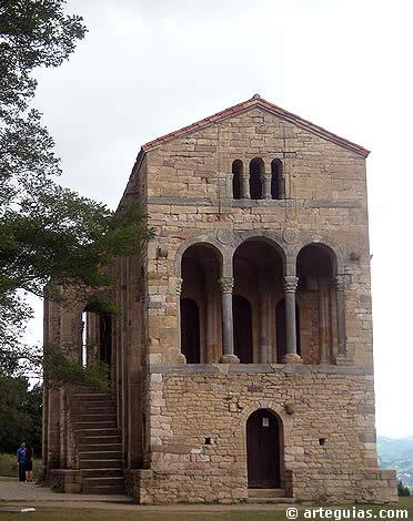 Prerrom nico asturiano arteguias for Arquitectura mozarabe