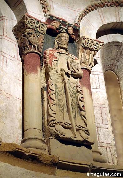 Relieve con el apóstol Santiago