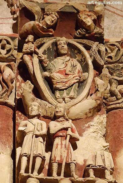 Cristo en Majestad rodeado por el Tetramorfos