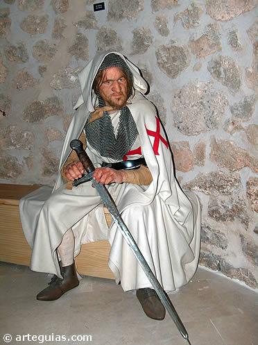 Caballero templario en el Castillo de Torija, Guadalajara