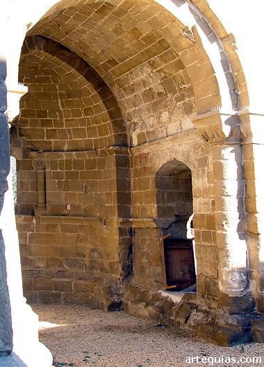 Interior de la cabecera