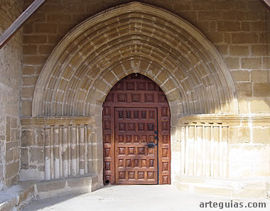 Puerta. Muro sur