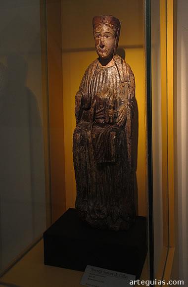 Virgen románica de Cillas (S. XII) Museo Catedralicio de Huesca