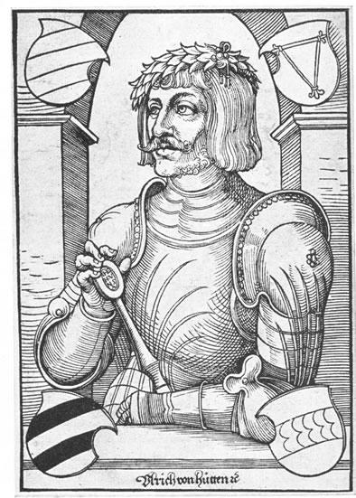 Sobre la Inquisición Española y la Leyenda Negra. Ulrico de Hutten fue  una de las figuras más importantes del nacionalismo alemán