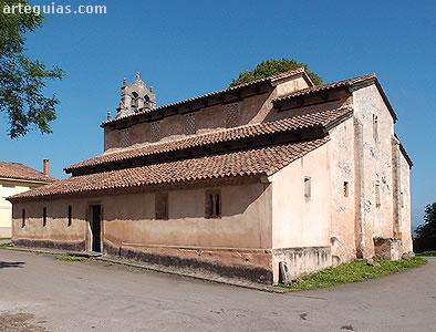 San Salvador de Priesca Etapa de la Arquitectura Prerrománica Asturiana Postramirense