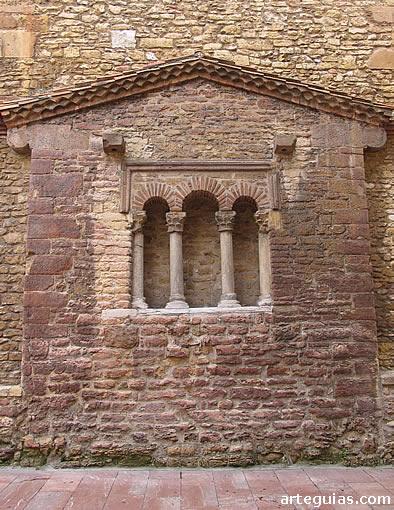Cabecera de la iglesia de San Tirso de Oviedo (Asturias)