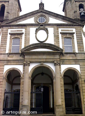 Fachada de la Concatedral de Ferrol, A Coruña