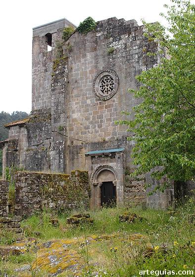 Fachada del brzo norte del transepto