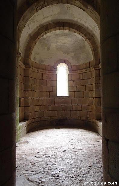 Ábside central de la cripta