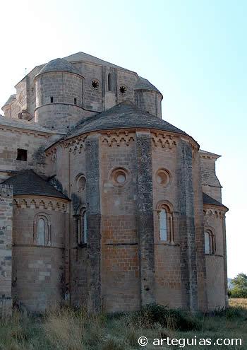 Cabecera de la iglesia del Monasterio de Irache, Navarra