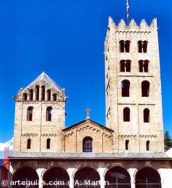 Iglesia del Monasterio de Ripoll, desde el oeste