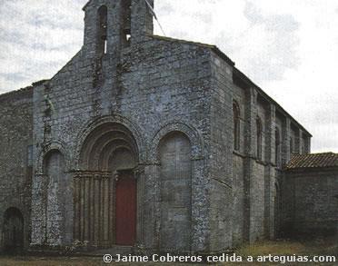 Iglesia del antiguo Monasterio de San Pelayo (San Paio) de Diomondi