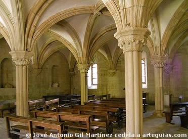 Sala Capitular del monasterio de Sobrado dos Monxes