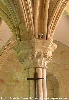 Detalle de la Sala Capitular del Monasterio de Sobrado dos Monxes, A Coruña