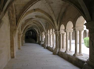 Claustro del Monasterio de Santa María de Vallbona
