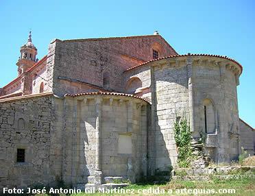 Cabecra de la iglesia, Xunqueira de Espadañedo
