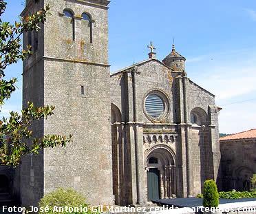 Fachada oeste de la iglesia del Monasterio