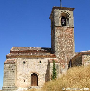 Iglesia de Caballar desde el sur