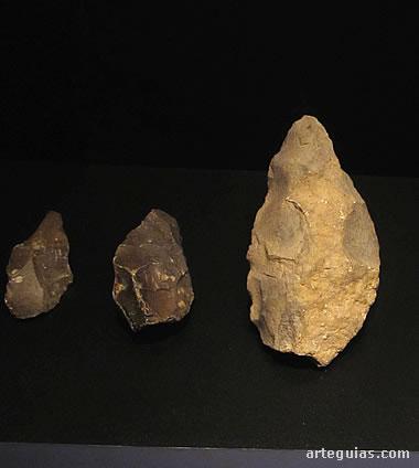 Bifaces del Paleolítico inferior
