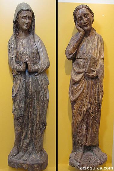 María y San Juan Evangelista
