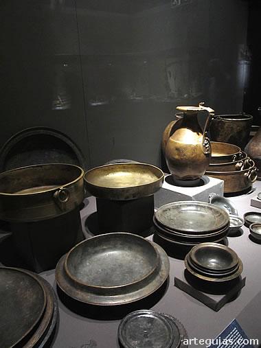 El Tesoro de Neupotz incluye cientos de elementos de vajilla metálica
