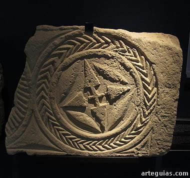Relieve visigodo del MARQ. Museo Arqueológico de Alicante