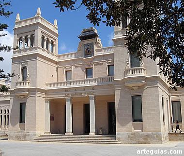 Edificio del Museo Arqueológico de Alicante