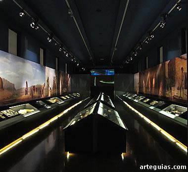 Espectacular sala del Museo Arqueológico de Alicante