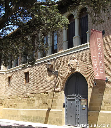 Fachada del Museo Diocesano de Huesca