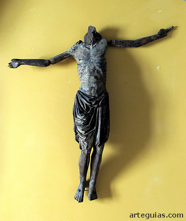 Cristo perteneciente a un  Descendimiento