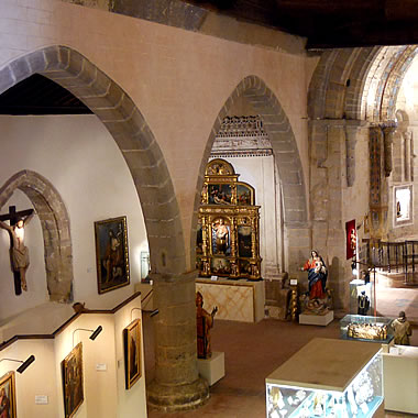 Parte de la colección del Museo de Arte Sacro