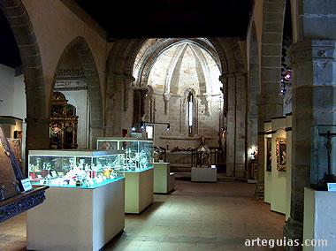 Iglesia de San Gil convertida en el Museo de Arte Sacro de Atienza
