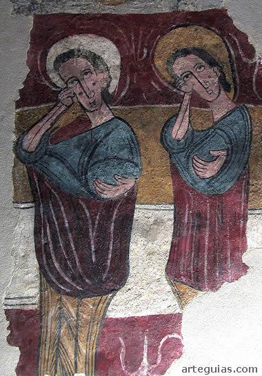 Pinturas de Susín en el Museo Diocesano de  Jaca