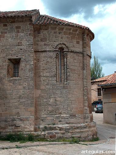 Cabecera de la iglesia de San Gil
