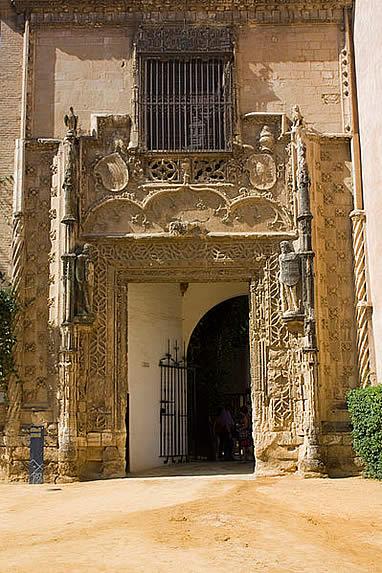 Puerta de Marchena del Real Alcázar de Sevilla