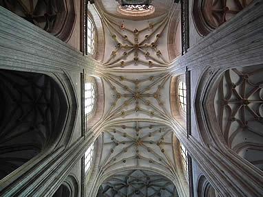 Bóvedas de la catedral de Astorga
