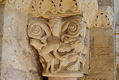 Capitel románico de San Zoilo