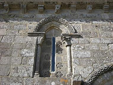 Ventalas de la iglesia de Castrelos