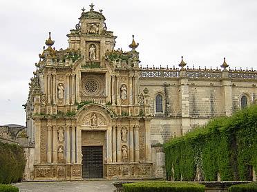 Fachada principal de la Cartuja de Jerez