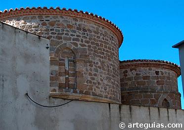 Cabecera románica de la iglesia de la Magdalena, Plasencia