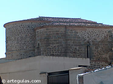 Cabecera de la Iglesia de la Magdalena de Plasencia