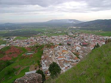 Vista general de Santisteban del Puerto