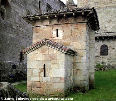 Capilla mozárabe de San Miguel. Celanova