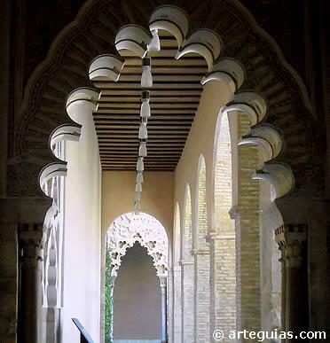 Interior de La Aljafería