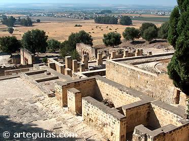 Vista de la ciudad - palacio de Medina Azahara