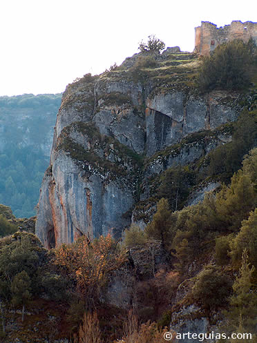 San Pedro el Viejo junto al barranco donde habitaron eremitas